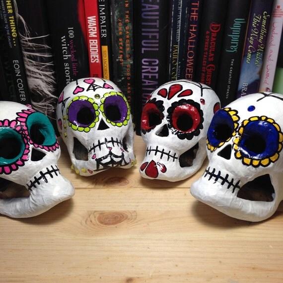 Sugar Skulls in My Shop