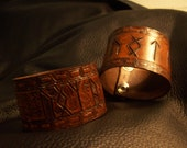 Custom leather wristband