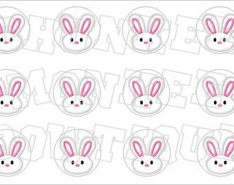 Easter Bunny bottlecap image sheet