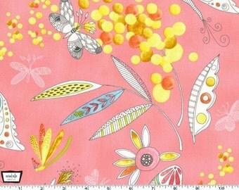Flight Patterns - Mimosa Pink by Tamara Kate from Michael Miller