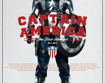 Captain America v2 Film Poster