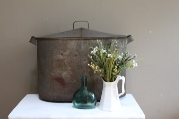 Antique Tin Double Boiler/reserved