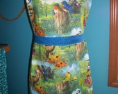 Ginny Apron - Bird Lover Watcher - Ready to ship