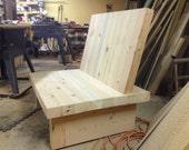 Reclaimed Douglas Fir Chair