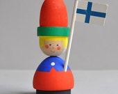 SALE! Swedish / Finnish Candleholder Tomte