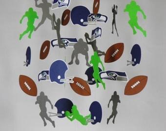 Seahawks 12th Man Baby Mobile, Football Team