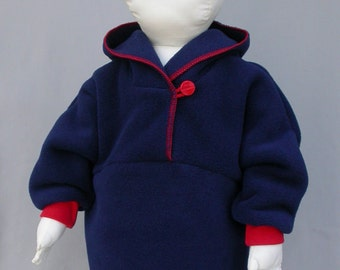 BLOW-0UT Sale! Pullover Jacket by Baby Polar Gear - Polartec 200 fleece - 6, 12 or 18 month - Limited Stock!