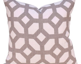 Pillow - Trellis Print Designer Pillow