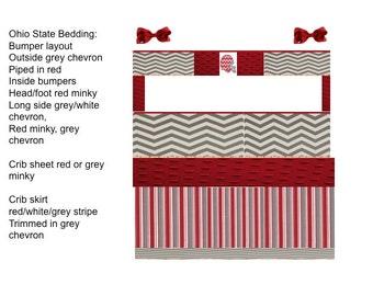 Thane Custom Baby Bedding Crib Set 3 Pc Set By Babiesnbaubles