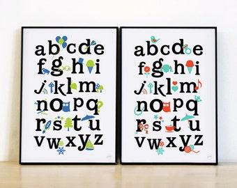 ABC Alphabet Print 1