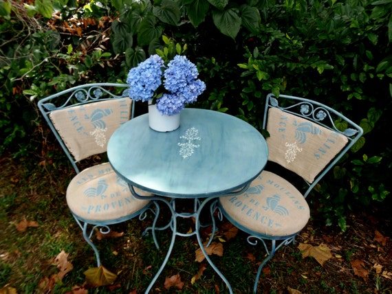 Vintage Bistro Set Patio Set French Country By