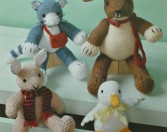 Toy knitting pattern Etsy