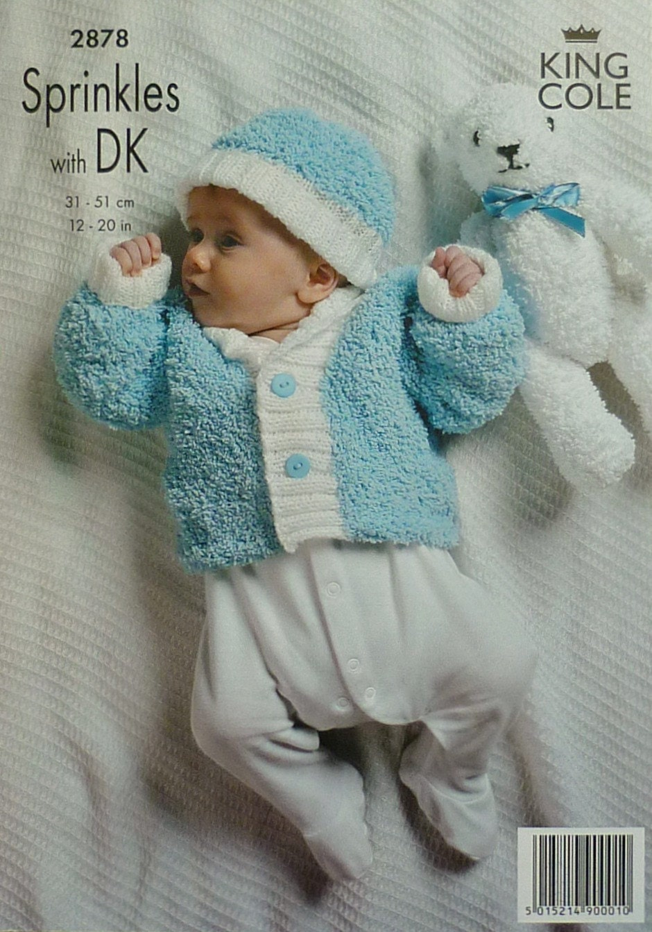Knitting Pattern King Cole : Baby Knitting Pattern K2878 Babies Long Sleeve Cardigan ...