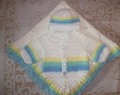 Crochet Baby Boy Infant Car Seat Blanket and Sweater Set Perfect For Baby Shower Gift or Newborn Take Me Home outfit