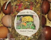 Spruce the Coop Herbal Fusion, Nest Box Herbs for Chicken Coop or Home, 100% Organic, Dried Herbal Blend