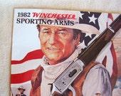 John Wayne Winchester Rifle catalog original 1982