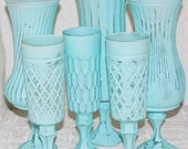 Shabby Chic Vintage Blue Set Made to Order