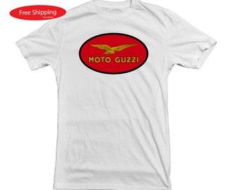 Moto Guzzi Motorcycle T Shirt
