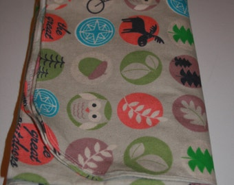 Baby Swaddle Blanket: The Great Outdoors