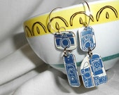 Recycled Tin Camera Earrings . . . Repurposed Metal Retro Cameras . . . Photographer, take your best shot