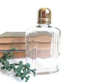 Vintage Cologne Bottle Glass Perfume Bottles