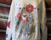 vintage intense decent icicles sweatshirt size L
