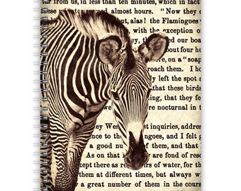 Notebook A5 - Zebra Typo