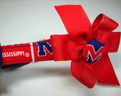 University of Mississippi Ole Miss Dog Collar Small