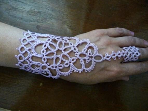 "Slave Bracelet Ring ""Shakti"" - wedding - gifts for Bridesmaid - for women"