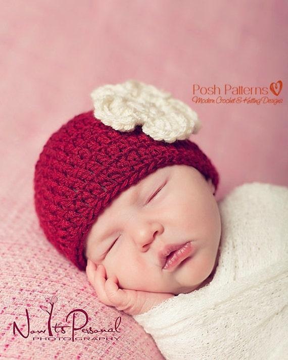 Crochet PATTERN Easy DK Beanie Crochet Hat Pattern Crochet