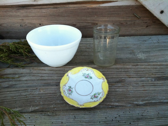 Vintage Kitchen Dishes On SALE Retro Serving By Happydayantiques