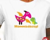 ADULT Dinosaur Birthday Shirt - Mom Dinosaur Shirt