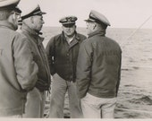 Seamen Meeting US Coast Guard Photo Eastwind Cutter 1950s Military