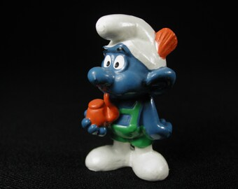 Vintage Tyrolese Smurf Figurine