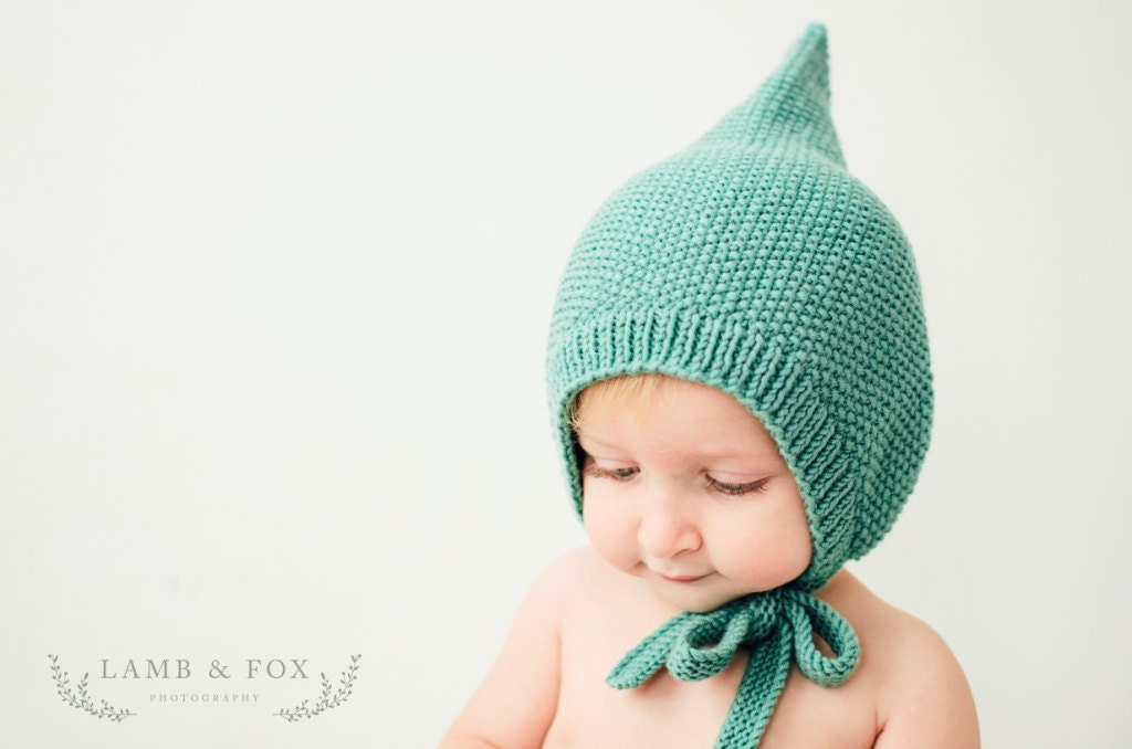 Knitting Pixie Hat Free Pattern : PDF Knitting Pattern to Knit Your Own Hat at Home Little