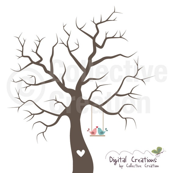 ... Silhouette Digital Clip Art Clipart Set - Personal and Commercial Use