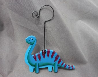 Dinosaur Ornament/Gift Tag/Party Favor  -- OA6