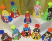 Super Hero Party Hats