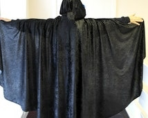 Adult Crushed Velvet Cloak Legoslas/Lord Of The Rings/LOTR/Pagan/Halloween