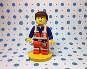 The Lego Movie Cake Topper - Emmet
