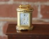 Miniature Dollhouse Clock / by Pierre Nicol / Dollhouse Decor / Mini Decor