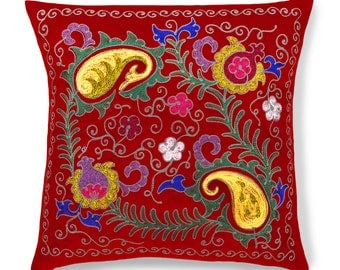 "Royal Blush, 19"" Patduzi Pillow Cover - 4073"