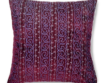 "Dusk Delight, 19"" Patduzi Pillow Cover - 4068"