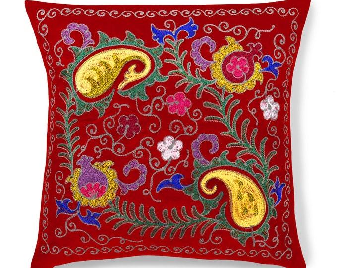 """Royal Blush, 19"""" Patduzi Pillow Cover - 4073"""