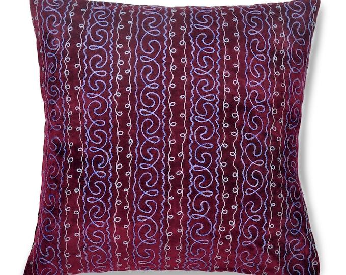 """Dusk Delight, 19"""" Patduzi Pillow Cover - 4068"""