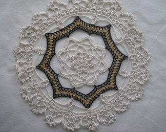 Dramatic Doily / Centerpiece / Tabletopper / Tablecloth