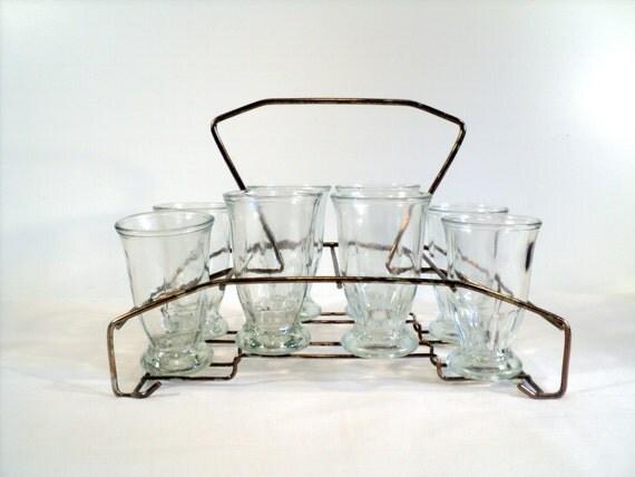 Vintage parfait glasses