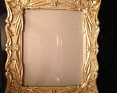 Unique, metalic, ornate, gold, silver, 8x10 frame