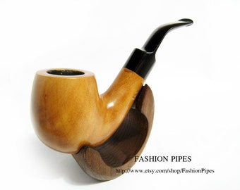 "New Light Tobacco Smoking Pipe Fits 9mm filters, Wooden pipe Carving Handmade, Exclusive ""Sherlock Holmes"" Pipe.....LOWEST Price......"