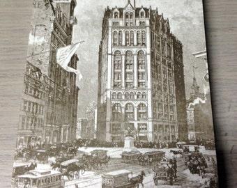 Printing House Square 4x6 Offset Printed Postcard